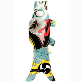 Koinobori Japanse vis vlag 'Kabuki Soldier' 70 cm - Madame Mo