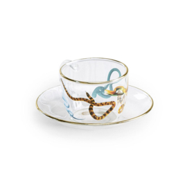 Seletti wears Toiletpaper: Koffie kop en schotel