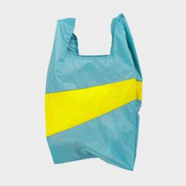 Shoppingbag L 'concept & fluo yellow' - Susan Bijl