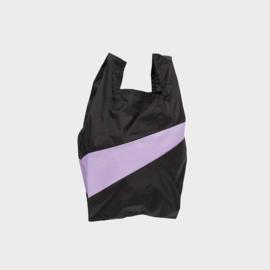 Shoppingbag M 'black & idea' - Susan Bijl