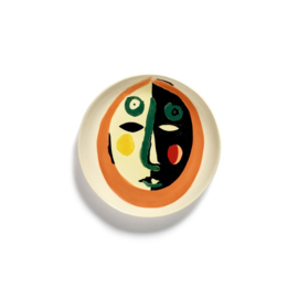 Plat bord 16 cm Face #1 - Ottolenghi / Serax