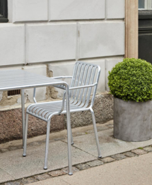 Palissade Armchair Hot Galvanised - HAY