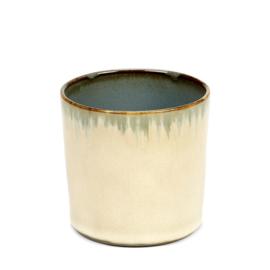 Beker cylinder hoog Misty Grey & Smokey Blue - Serax / Anita Le Grelle
