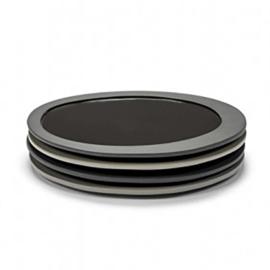 Servies 'Inner Circle' Maarten Baas: Plat Bord Small (21 cm) - Valerie Objects