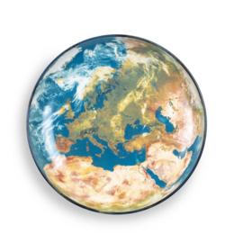 Cosmic Diner - Schaal / Bord 32 cm 'Earth - Europe' - Seletti Diesel Living