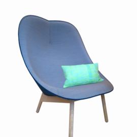 Uchiwa fauteuil - Remix 722 / Melange Nap 871