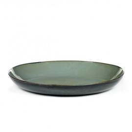 Serveerschaal 35,5 cm Smokey Blue & Dark Blue - Serax / Anita Le Grelle