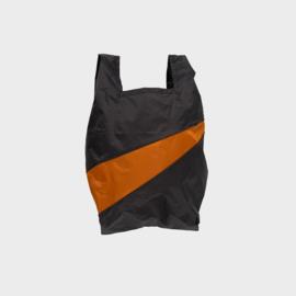 Shoppingbag M 'black & sample' - Susan Bijl