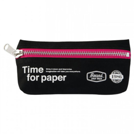 Etui 'Time for paper' Black - Mark's Inc.