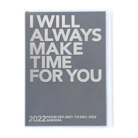 2022 Agenda / Diary A5 Make Time Gray - Mark's Inc.