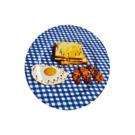 Seletti wears Toiletpaper Plate: Breakfast / Ontbijt -  bord met print
