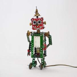 Lamp van Meccano 'Kleine Robot' - Oom Jan