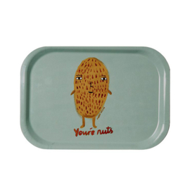 Dienblad  / Mini Tray 'You're nuts' - Donna Wilson