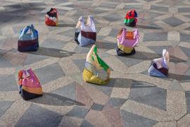 Six Colour Bag  M #6 Susan Bijl en Bertjan Pot - HAY