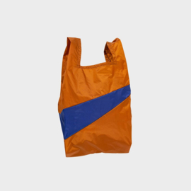 Shoppingbag M 'sample & electric blue' - Susan Bijl