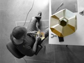 Beehive hanglamp (messing) - Marc de Groot