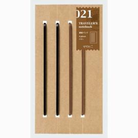 Refill 021 elastiekjes voor Traveler's Notebook - Traveler's Company