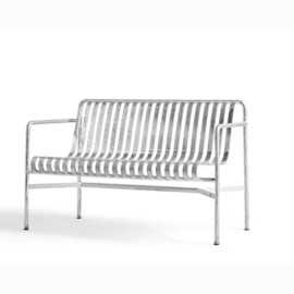 Palissade Dining Bench Hot Galvanised - HAY