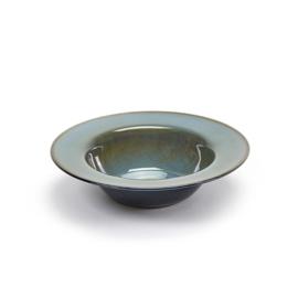 Diep bord brede rand 21,3 cm Smokey Blue & Dark Blue - Serax / Anita Le Grelle