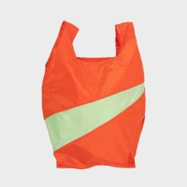 Shoppingbag M 'red alert & error' - Susan Bijl