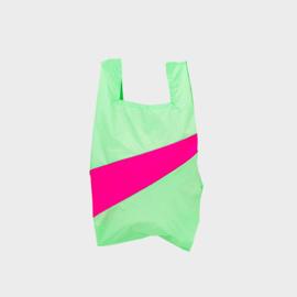 Shoppingbag M 'error & pretty pink' - Susan Bijl
