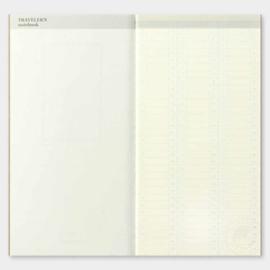 Refill 018 free diary week voor Traveler's Notebook - Traveler's Company