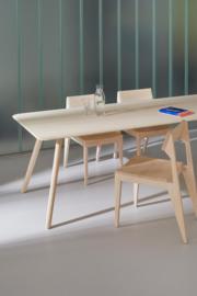 Massief houten eettafel Meyer 75 x 75 cm - OUT