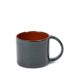 Espresso kopje 8,5 CL Rust & Dark Blue - Serax / Anita Le Grelle