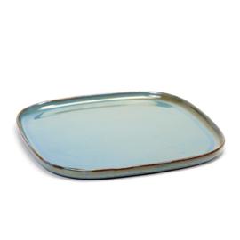 Vierkant bord 25,4 cm Smokey Blue - Serax / Anita Le Grelle
