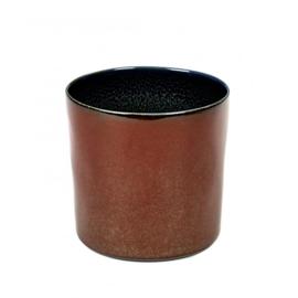Beker cylinder hoog Rust & Dark Blue - Serax / Anita Le Grelle