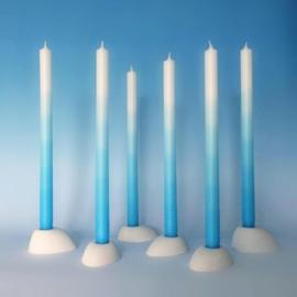 Gradiënt candle / kaars 'Horizon Blue' - Mo man tai
