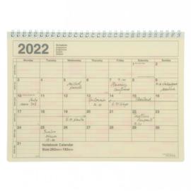 2022 Monthly Desktop Calendar M Ivory - Mark's Inc.