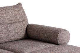 Pandarine 3 zitsbank (263 cm) chaise longue - Mixed armleuningen - Inga Sempé / HAY