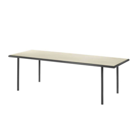 Wooden table rectangular black - Muller Van Severen / Valerie Objects