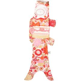 Koinobori Japanse vis vlag 'Kimono Girl' 70 cm - Madame Mo