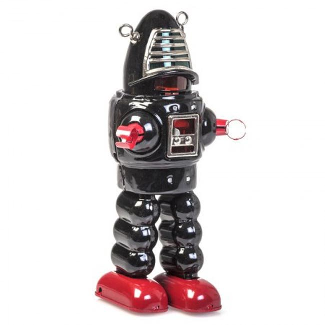 Planet Robot zwart / rood - Schylling