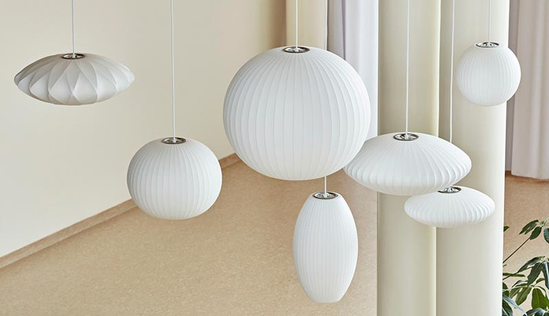Nelson Ball Crisscross Bubble hanglamp - HAY