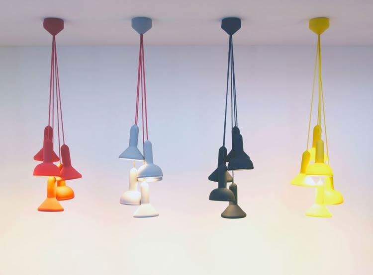 Torch S5 bundel hanglamp - Established & Sons