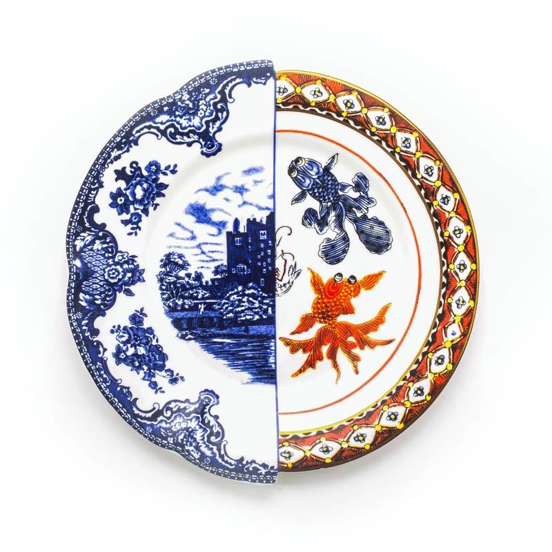 Hybrid servies - Dinerbord 27,5 cm 'Isaura' - Seletti