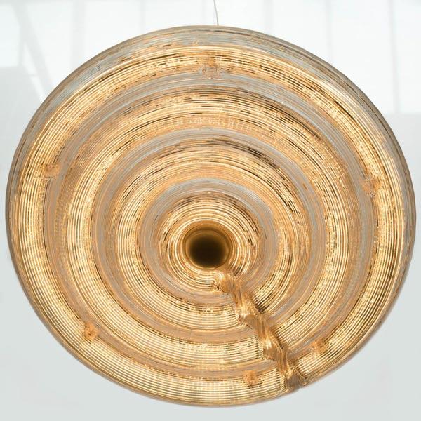 Fresnel Light hanglamp 3D geprint  36 cm - Dirk Vander Kooij