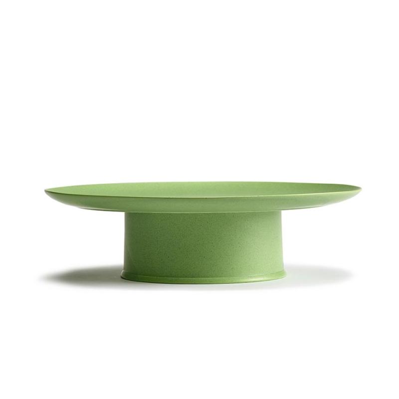 Servies Ra - Taartplateau 33 cm Green - Ann Demeulemeester Serax