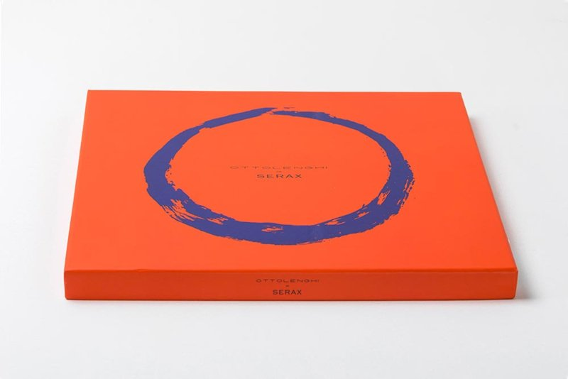 Plat Serveerbord 35 cm Azuurgroen & Goud - Ottolenghi / Serax