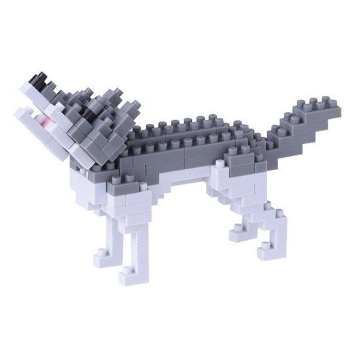 'Grey Wolf' Japans mini lego - Nanoblocks
