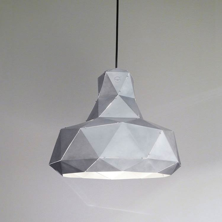 Helix hanglamp (aluminium) - Marc de Groot