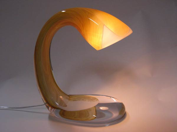 Tafellamp 'Liquid Light' Zilver - Arnout Visser