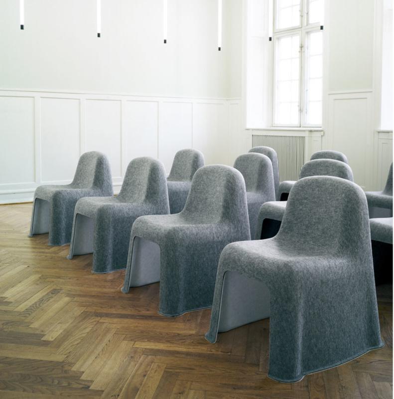 Showroommodel HAY Nobody stoel - grijs