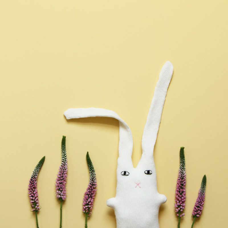 Cashmere (Kasjmier) Knuffel Konijn 'Brian Bunny' - Donna Wilson