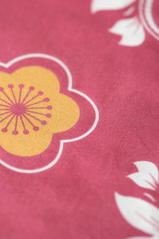 Koinobori Japanse vis vlag 'Plum' 140 cm - Madame Mo