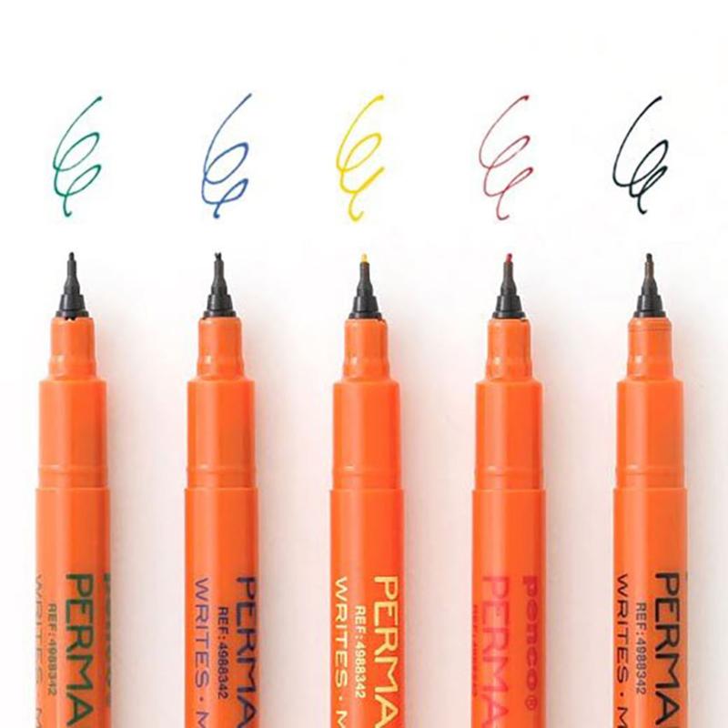 Japanse fijnschrijvers (0,5 mm) 5 stuks - Penco / Hightide