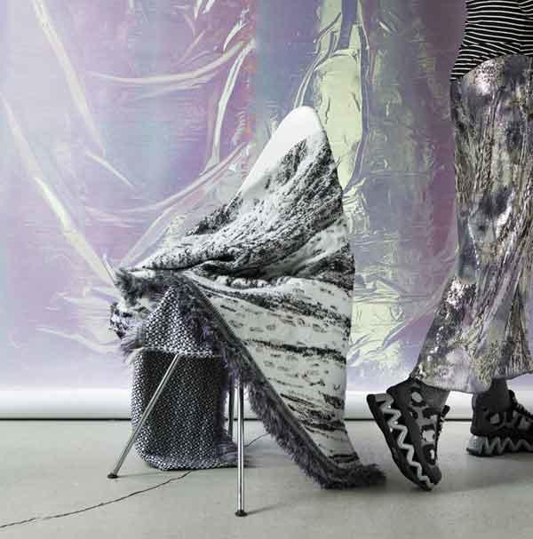 Plaid / Deken 'Skinn' N°2  - Roos Soetekouw